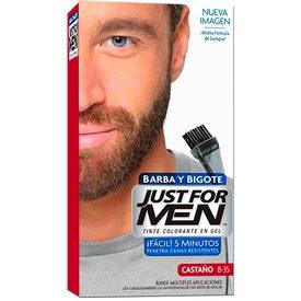 Just For Men Tintes p/ barba Castaño