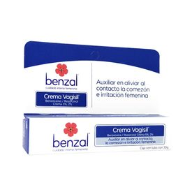 Benzal Crema 5% 2% Vagisil