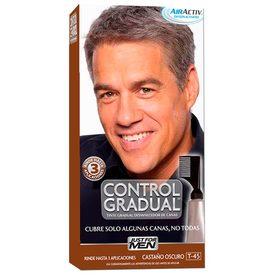 Just For Men Tintes p/ cabello Control gradual castaño oscuro