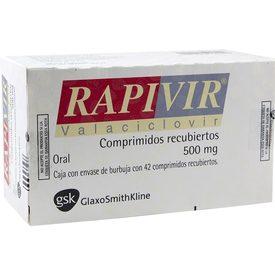Rapivir 42 Comprimidos Caja