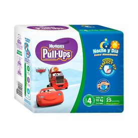 Huggies Pull-ups Pañales de Día y Noche para niño etapa 4