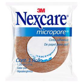 3M Nexcare Micropore Piel (1/2 pulgada) 1.25cm x 5m