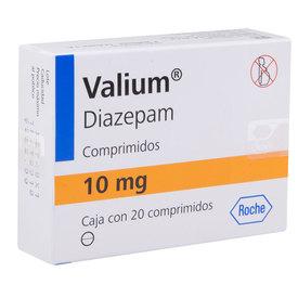 Valium 20 Comprimidos Caja