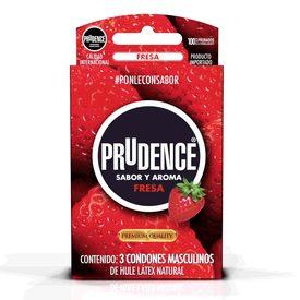 Prudence Preservativos Fresa